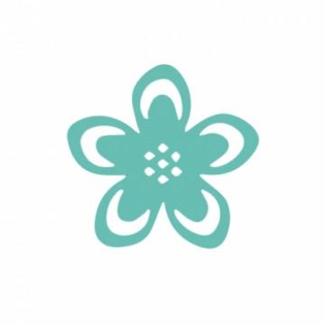 Ozdobná děrovačka ažurová - květinka 3,7 cm