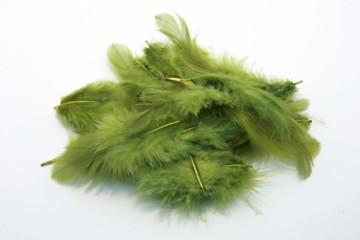 Barevná peříčka - brčálová