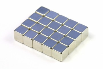 Magnety neodymové hranol 5x5x5 mm (25 ks)