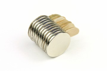 Samolepící magnety neodymové 10x1 mm (10 ks)