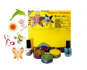 Tetovací třpytivá sada XL- Sada nejlepších