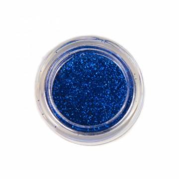 Jemné třpytky na tělo 10 ml - modré (02)