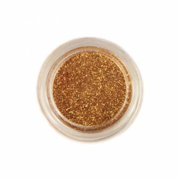 Jemné třpytky na tělo 10 ml - zlaté (03)