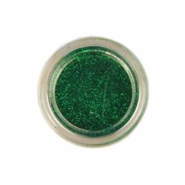 Jemné třpytky na tělo 10 ml - zelené (05)