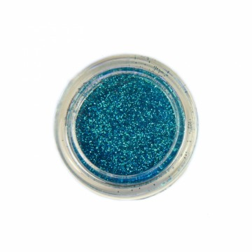 Jemné třpytky na tělo 10 ml - světle modré (06)
