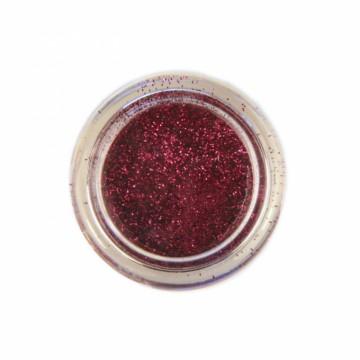 Jemné třpytky na tělo 10 ml - purpurové (07)