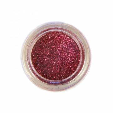 Jemné třpytky na tělo 10 ml - růžové (09)