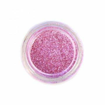 Jemné třpytky na tělo 10 ml - světle růžové (11)