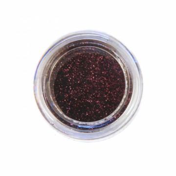 Jemné třpytky na tělo 10 ml - tmavě hnědé (14)
