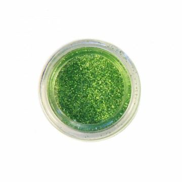 Jemné třpytky na tělo 10 ml - olivově zelené (17)