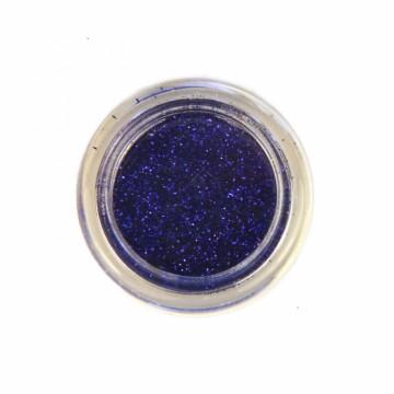 Jemné třpytky na tělo 10 ml - safírové (19)
