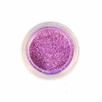 Jemné třpytky na tělo 10 ml - fialové (20)