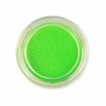 Jemné třpytky UV neonové na tělo 10 ml - zelené (21)
