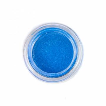 Jemné třpytky UV neonové na tělo 10 ml - modré (22)