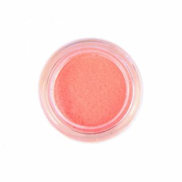 Jemné třpytky UV neonové na tělo 10 ml - oranžové (23)