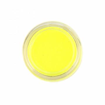 Jemné třpytky UV neonové na tělo 10 ml - žluté (24)