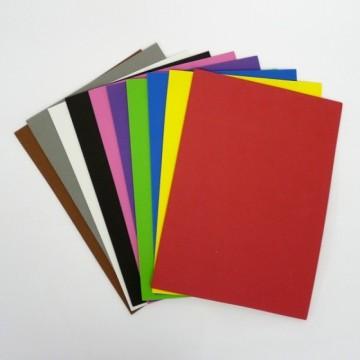 Pěnovka samolepící - moosgummi A4 (10 ks), mix barev