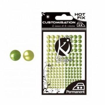 Hot - fix DUO nažehlovací kamínky - zelené