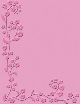Embosovací kapsa Květiny pomněnky