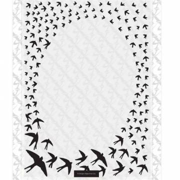 Embosovací kapsa Rámeček oválný vlaštovky