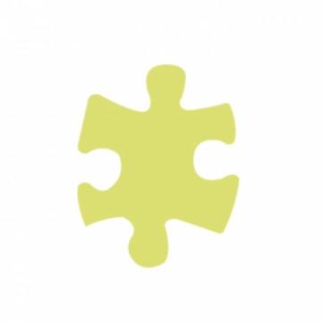Ozdobná děrovačka - Puzzle 5 cm