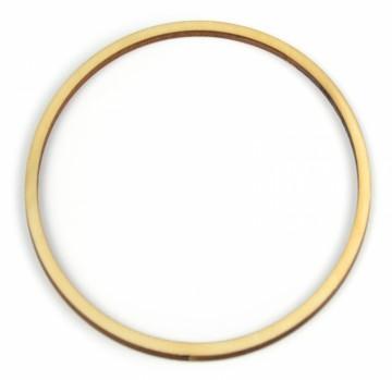 Dřevěný výřez kruh - základ pro lapač snů, průměr 12 cm