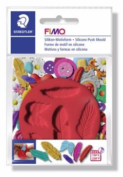 FIMO silikonová vytlačovací forma - Peříčka