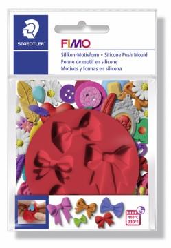 FIMO silikonová vytlačovací forma - Mašličky