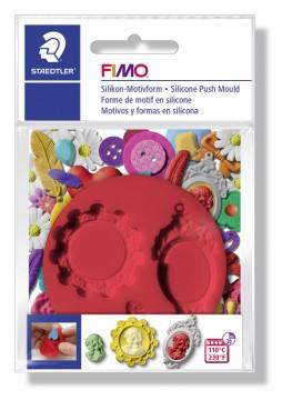 FIMO silikonová vytlačovací forma - Kamej
